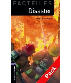 Книга для читання Oxford Bookworms Library Level 4 Disaster Factfile Audio CD Pack