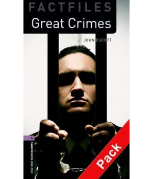 Книга для читання Oxford Bookworms Library Level 4 Great Crimes Factfile Audio CD Pack