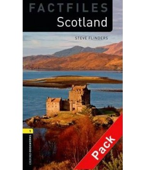 Книга для читання Oxford Bookworms Library Level 1 Scotland Factfile Audio CD Pack