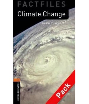 Книга для читання Oxford Bookworms Library Level 2 Climate Change Factfile Audio CD Pack