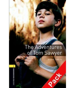 Книга для читання Oxford Bookworms Library Level 1 Adventures of Tom Sawyer Audio CD Pack