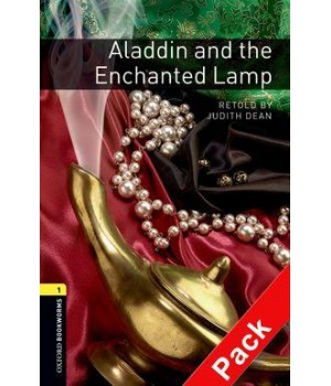 Книга для читання Oxford Bookworms Library Level 1 Aladdin and the Enchanted Lamp Audio CD Pack