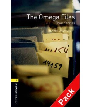 Книга для читання Oxford Bookworms Library Level 1 Omega Files - Short Stories Audio CD Pack