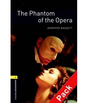 Книга для читання Oxford Bookworms Library Level 1 Phantom of the Opera Audio CD Pack