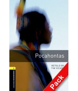 Книга для читання Oxford Bookworms Library Level 1 Pocahontas Audio CD Pack