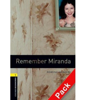 Книга для читання Oxford Bookworms Library Level 1 Remember Miranda Audio CD Pack