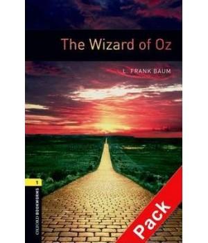 Книга для читання Oxford Bookworms Library Level 1 Wizard of Oz Audio CD Pack
