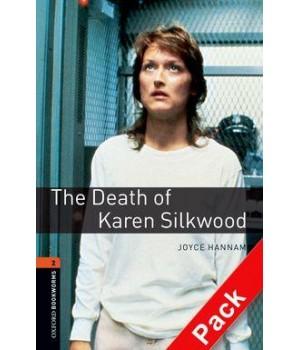 Книга для чтения Oxford Bookworms Library Level 2 Death of Karen Silkwood Audio CD Pack