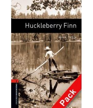 Книга для чтения Oxford Bookworms Library Level 2 Huckleberry Finn Audio CD Pack