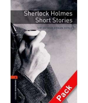 Книга для чтения Oxford Bookworms Library Level 2 Sherlock Holmes Short Stories Audio CD Pack