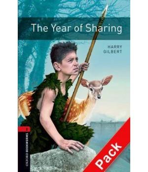 Книга для чтения Oxford Bookworms Library Level 2 Year of Sharing Audio CD Pack