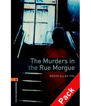 Книга для читання Oxford Bookworms Library Level 2 Murders in the Rue Morgue Audio CD Pack
