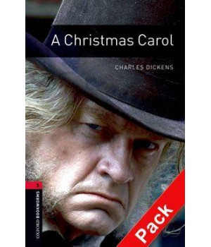 Книга для читання Oxford Bookworms Library Level 3 Christmas Carol Audio CD Pack