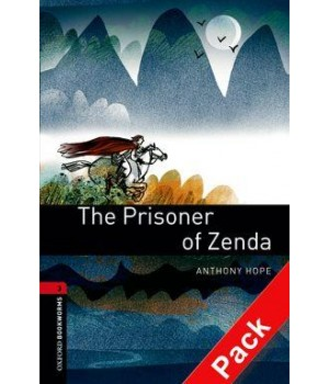 Книга для читання Oxford Bookworms Library Level 3 Prisoner of Zenda Audio CD Pack