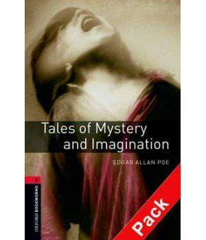 Книга для читання Oxford Bookworms Library Level 3 Tales of Mystery and Imagination Audio CD Pack
