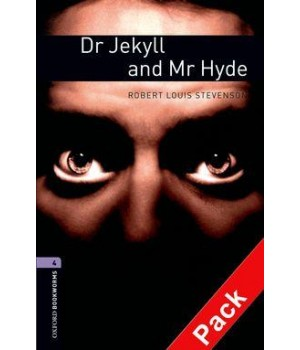 Книга для читання Oxford Bookworms Library Level 4 Dr Jekyll and Mr Hyde Audio CD Pack