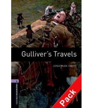 Книга для читання Oxford Bookworms Library Level 4 Gulliver's Travels Audio CD Pack
