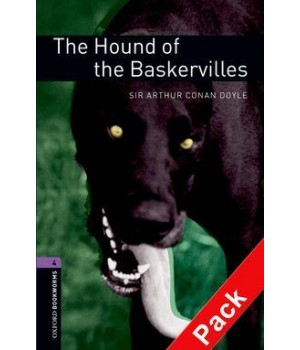 Книга для читання Oxford Bookworms Library Level 4 Hound of the Baskervilles Audio CD Pack