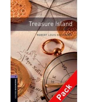 Книга для читання Oxford Bookworms Library Level 4 Treasure Island Audio CD Pack