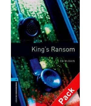 Книга для читання Oxford Bookworms Library Level 5 Kings Ransom Audio CD Pack