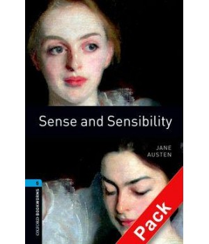 Книга для читання Oxford Bookworms Library Level 5 Sense & Sensibility Audio CD Pack
