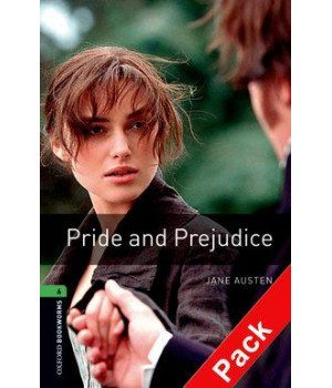 Книга для читання Oxford Bookworms Library Level 6 Pride and Prejudice Audio CD Pack