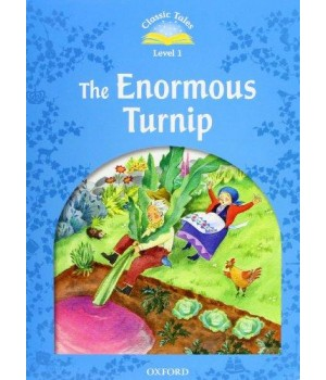 Книга для читання Classic Tales Second Edition 1 The Enormous Turnip e-Book and Audio CD Pack