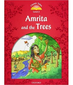 Книга для читання Classic Tales Second Edition 2 Amrita and the Trees e-Book and Audio CD Pack
