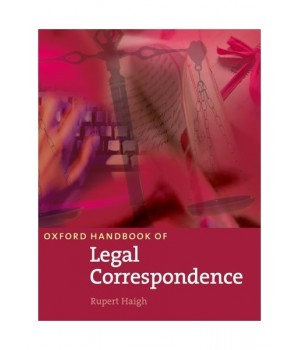 Учебник Oxford Handbook of Legal Correspondence Student's Book