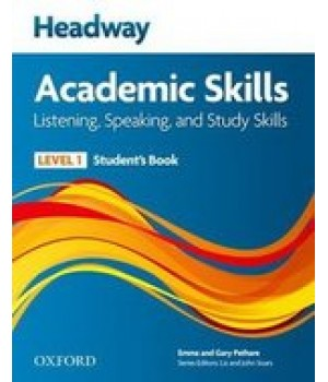 Підручник Headway Academic Skills 1 Listening and Speaking Student's Book and Audio CD Pack