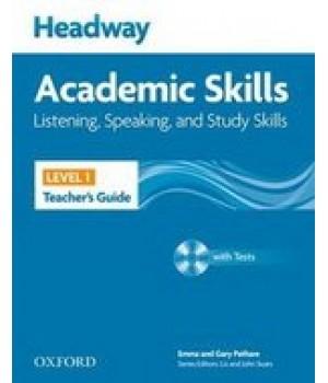 Книга для вчителя Headway Academic Skills 1 Listening and Speaking Teacher's Book