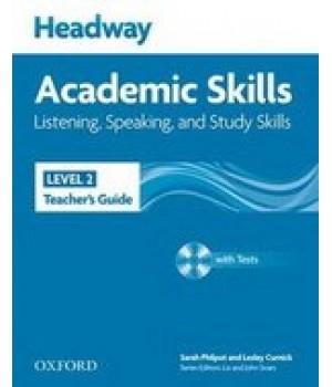 Книга для вчителя Headway Academic Skills 2 Listening and Speaking Teacher's Book