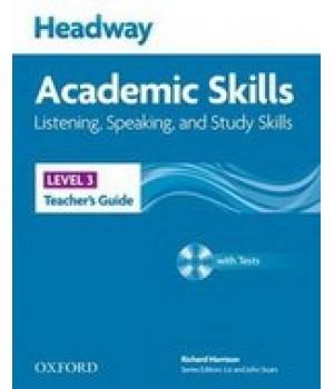 Книга для вчителя Headway Academic Skills 3 Listening and Speaking Teacher's Book