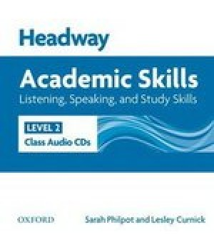 Диски Headway Academic Skills 2 Listening and Speaking Class Audio CDs(2)