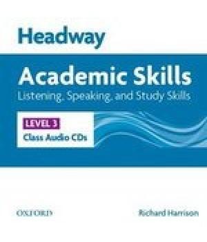 Диски Headway Academic Skills 3 Listening and Speaking Class Audio CDs(2)
