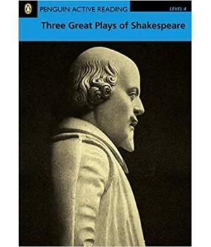 Книга для читання Three Great Plays of Shakespeare without CD audio Level 4