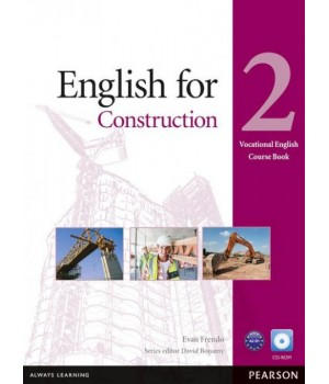 Підручник English for Construction Level 2 Coursebook and CD-ROM Pack