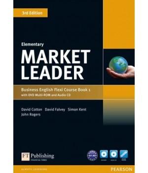 Підручник Market Leader (3rd Edition) Elementary PART 1 (Coursebook + Practice File + DVD-ROM + Audio CD)