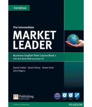 Учебник Market Leader (3rd Edition) Pre-Intermediate PART 1 (Coursebook + Practice File + DVD-ROM + Audio CD)