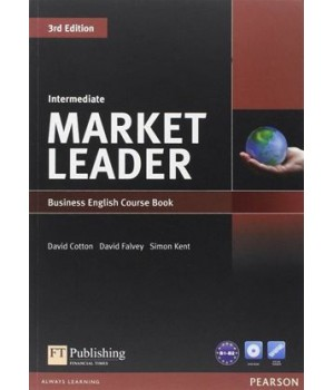 Учебник Market Leader (3rd Edition) Intermediate Coursebook with DVD-ROM