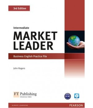 Рабочая тетрадь Market Leader (3rd Edition) Intermediate Practice File with Audio CD Pack