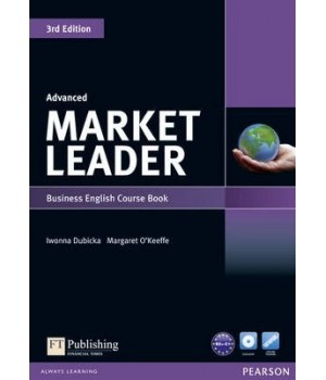 Учебник Market Leader (3rd Edition) Advanced Coursebook with DVD-ROM