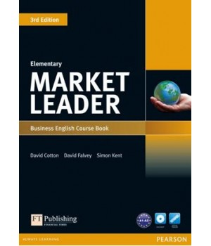 Учебник Market Leader (3rd Edition) Elementary Coursebook with DVD-ROM