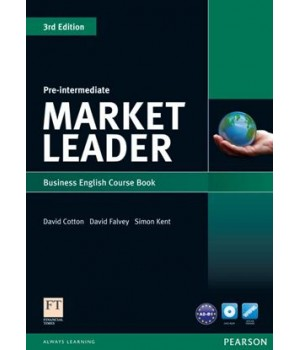 Учебник Market Leader (3rd Edition) Pre-Intermediate Coursebook with DVD-ROM