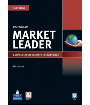 Книга для вчителя Market Leader (3rd Edition) Intermediate Teacher's Book Pack (with Test Master Multi-ROM and DVD)