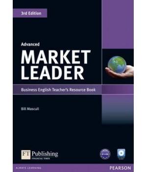 Книга для вчителя Market Leader (3rd Edition) Advanced Teacher's Book Pack (with Test Master Multi-ROM and DVD)