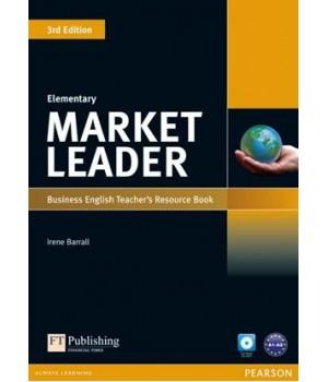 Книга для вчителя Market Leader (3rd Edition) Elementary Teacher's Resource Book with Test Master Multi-ROM