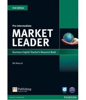 Книга для учителя Market Leader (3rd Edition) Pre-Intermediate Teacher's Resource Book with Test Master Multi-ROM