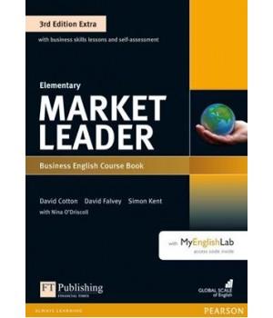 Підручник Market Leader (3rd Edition) Elementary Coursebook with DVD-ROM and MyEnglishLab