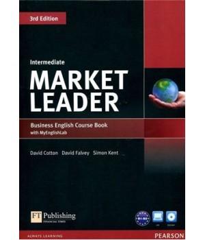 Підручник Market Leader (3rd Edition) Intermediate Coursebook with DVD-ROM and MyEnglishLab